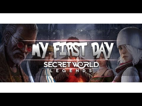My First Day In SECRET WORLD LEGENDS - 2018 First Impressions - Is It Worth Playing?