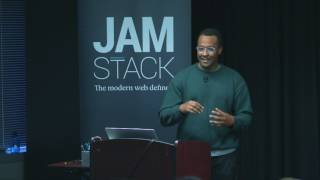 Frontend for a server-less stack — Brian Douglas