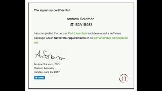 Geekuni certification on LinkedIn