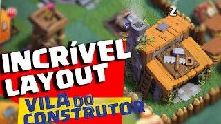 INCRÍVEL LAYOUT VILA DO CONSTRUTOR NÍVEL 3 CLASH OF CLANS