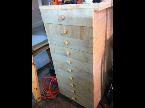 My homemade toolbox, great project for your garage