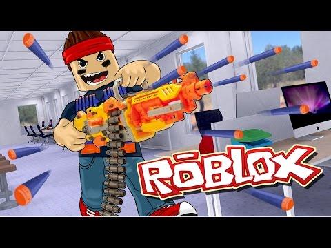 Roblox   ULTIMATE NERF GUN WAR - Nerf FPS Roblox! (Roblox Gun Game)