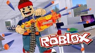 Roblox | ULTIMATE NERF GUN WAR - Nerf FPS Roblox! (Roblox Gun Game)
