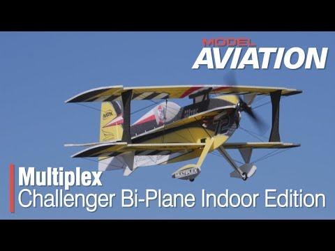 Multiplex Challenger Bi-Plane Indoor Edition - Model Aviation Magazine