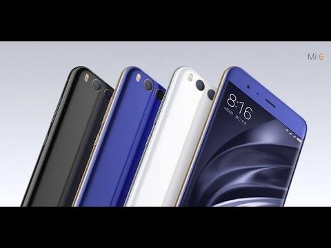 Xiaomi Mi 6 - официально представлен