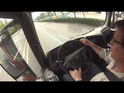 Hyundai Trucks Xcient Test Drive