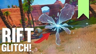 FLYING RIFT GLITCH! | FORTNITE FUNNY FAILS AND BEST MOMENTS #033