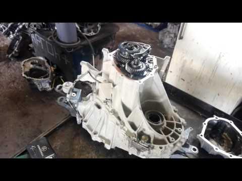 Ремонт РКПП Toyota Corolla шум при движении