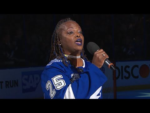 WSH@TBL, Gm1: Bryson performs national anthem