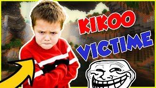 TROLL D'UN KIKOO QUI PLEURE !! MEILLEUR TROLL ! HEROBRINE | Minecraft troll kikoo fr