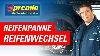 Reifen wechseln bei einer Reifenpanne | Premio Reifen + Autoservice
