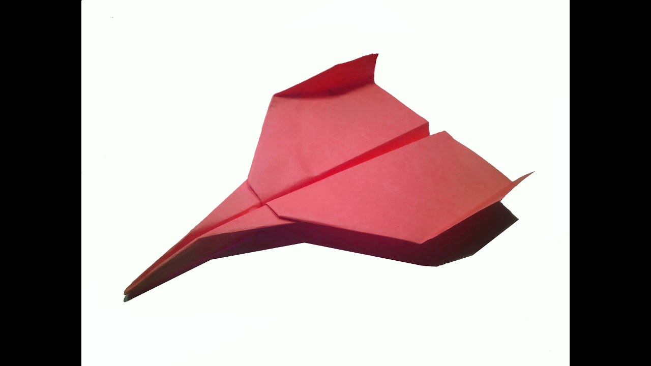 how to make paper plane very easy diy craft youtube