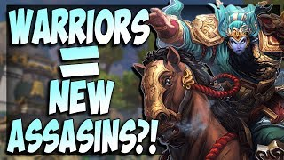 Smite: WARRIORS = NEW ASSASINS?! | Guan Yu BUFF - Masters Ranked Duel