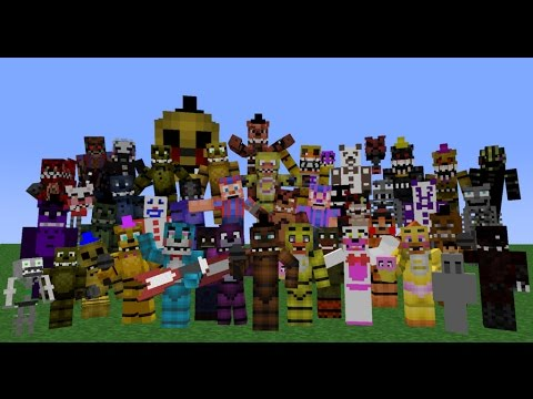 flat world survival #4 fnaf world