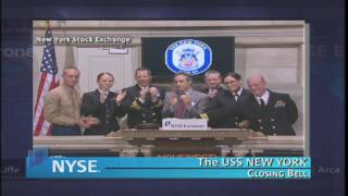 5 November 2009 USS New York NYSE Euronext Closing Bell