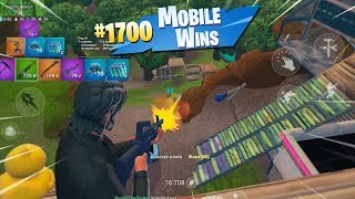 MY 1700th WIN ON MOBILE!! (Fortnite Mobile Battle Royale Gameplay)