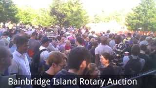 Bainbridge Island Rotary Auction 2013 Bright And Early Report