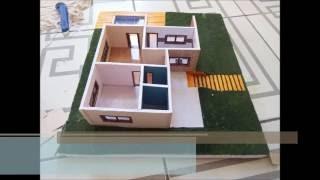como fazer maquete arquitetônica física de casa