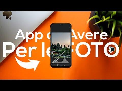 MIGLIORI APP Gratis Da AVERE Per Le TUE FOTO! - IOS & Android 2019