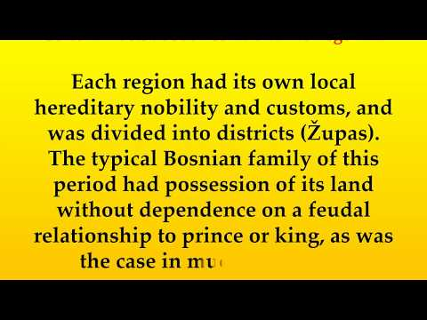 Cultural Facts about Bosnia and Herzegovina