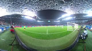 Cristiano Ronaldo's stunning overhead kick against Juventus in 360