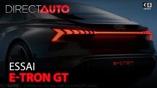 ESSAI : E-TRON GT : AU VOLANT DU CONCEPT AUDI