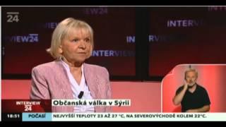 Česká velvyslankyně v Sýrii: Je tohle ještě žurnalistika?