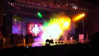 Ganesh stuti by parthiv gohil at Gujarat conviencen hall