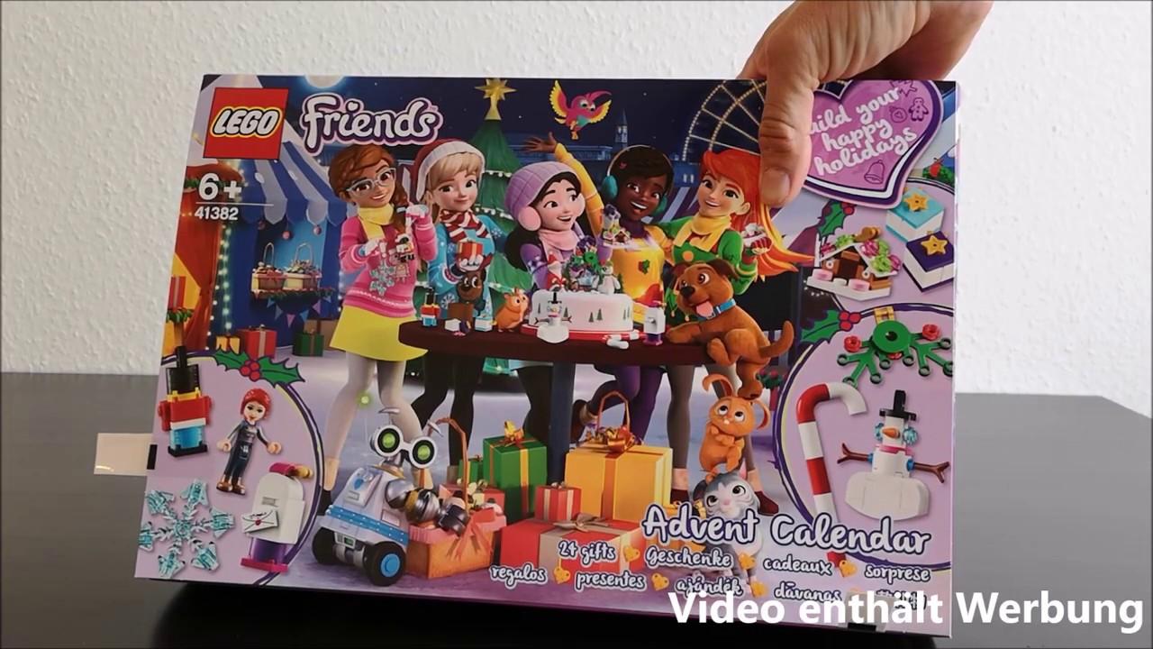 Lego Weihnachtskalender 2019.Lego Friends Adventskalender 2019 Unboxing Inhalt