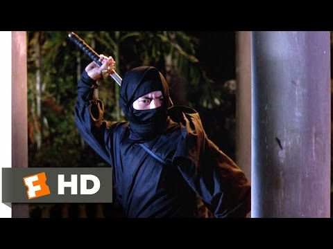 Enter the Ninja (1981) - An Agent of Death Scene (10/13) | Movieclips