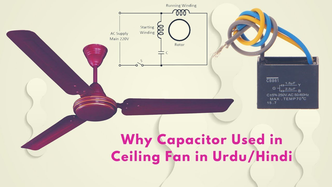 Capacitor Used For Ceiling Fan
