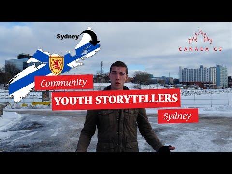 Community Youth Storyteller I Sydney, NS.