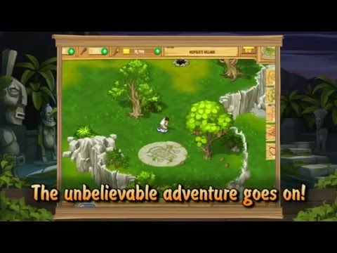 The Island Castaway Lost World iPad Gameplay Video