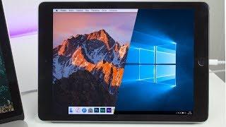 видео Как использовать iPad или планшет с Android в качестве второго монитора для ПК с Windows