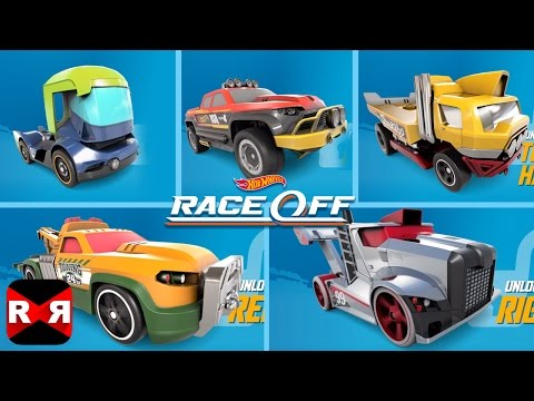 Hot Wheels: Race Off - All Heavy Duty Vehicles Unlocked With 10 New Levels Update