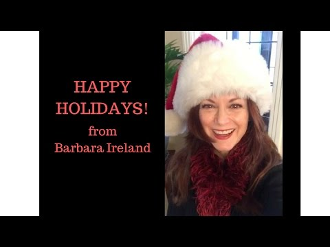 Mind Loops Holiday Message from Barbara Ireland