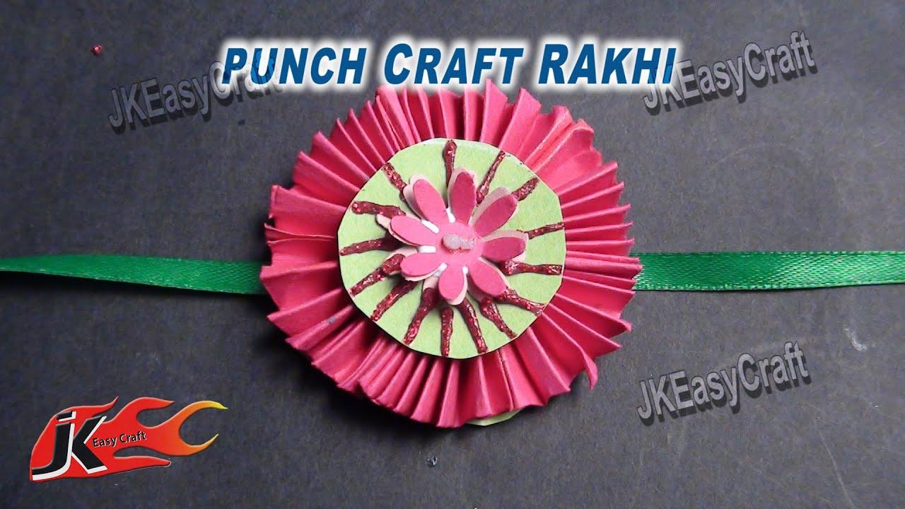 Diy Easy Paper Rakhi For Raksha Bandhan How To Make Jk Easy