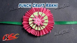 DIY Paper Rakhi for Raksha Bandhan | How to make |JK Easy Craft for kids 030