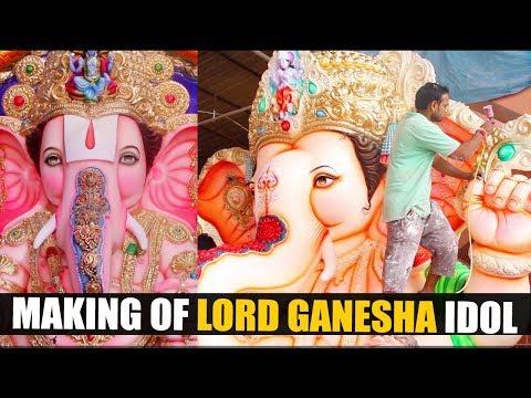 Making of Lord Ganesha Idol | Making Ganpati 2017  | How to make Ganesh Idol | Exclusive