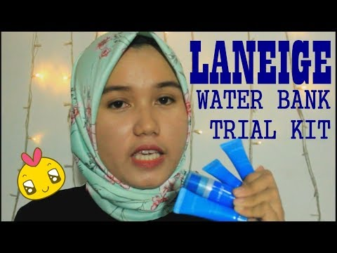 LANEIGE WATERBANK (SKIN CARE KOREA) REVIEW & TUTORIAL (BAHASA INDONESIA) || B&D VLOG