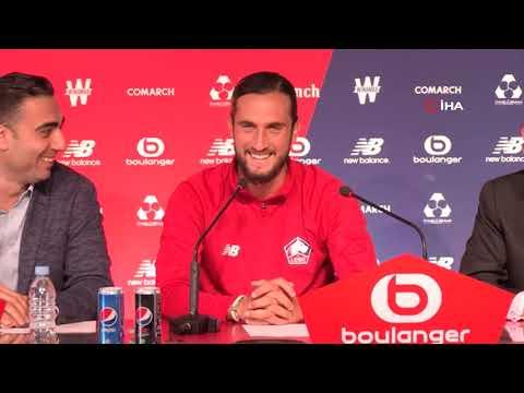 Lille'nin yeni transferi Yusuf Yazıcı, Fransız basınına tanıtıldı