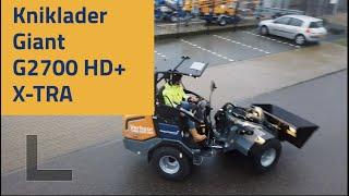 Hoogwerkservice Kniklader Giant G2700 HD+ X-tra