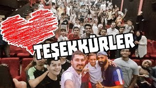 BİZİ SEVEN HERKESE TEŞEKKÜRLER!! - İYİ Kİ VARSINIZ!!