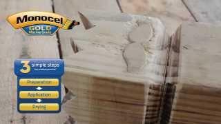 Monocel Wood Varnish in 3 Simple Steps (Kubb Set)