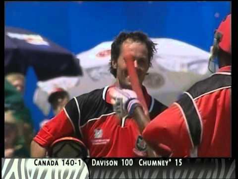John Davison 111 v West Indies 2003 World Cup