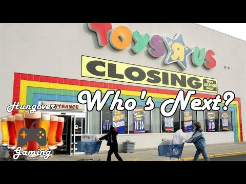 ToysRus is Bankrupt, who is next?-Hungover podcast ep. 58
