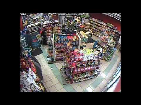 Video Released Of Armed Robbery Attempt At Route 202 Mobil Station