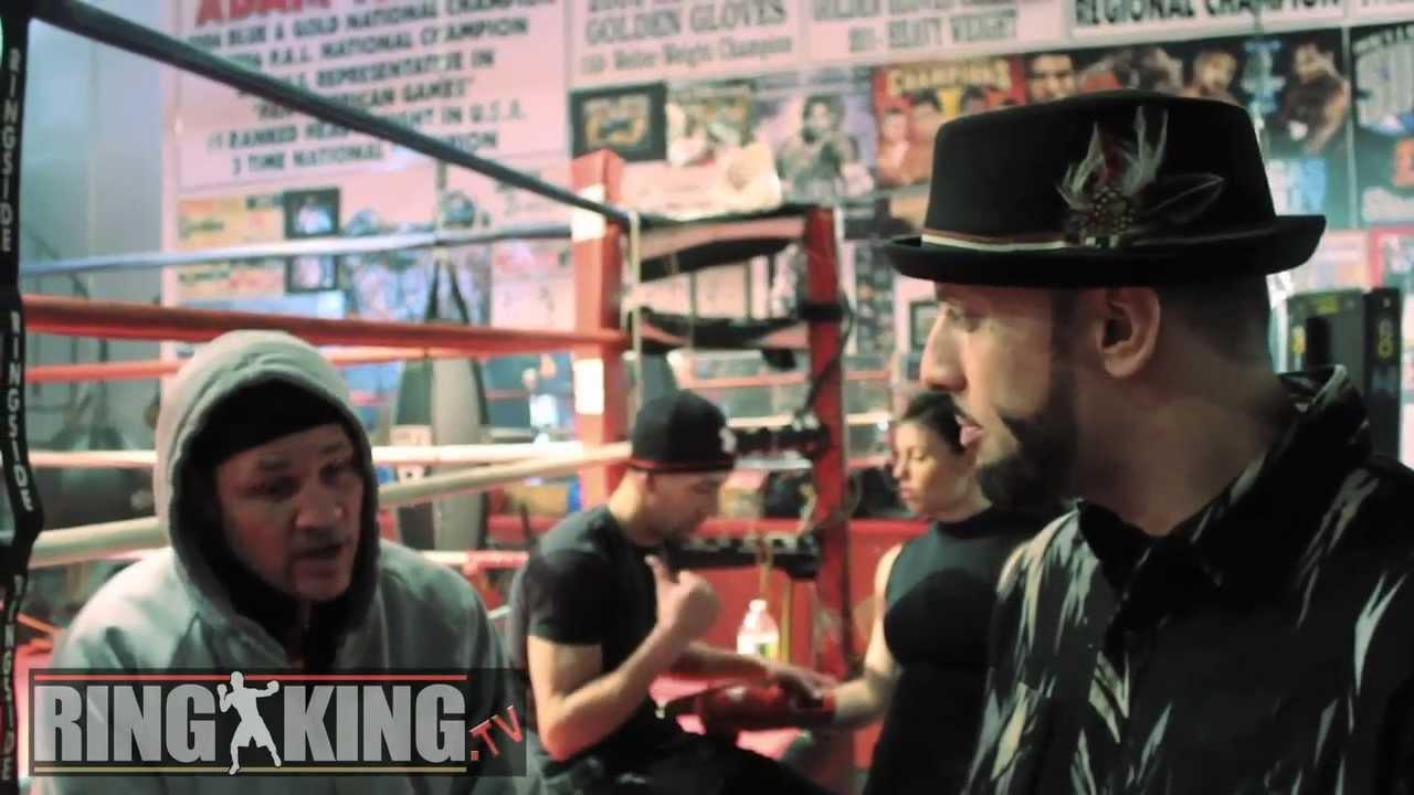Ra The Rugged Man Iceman John Skully Talk Boxing