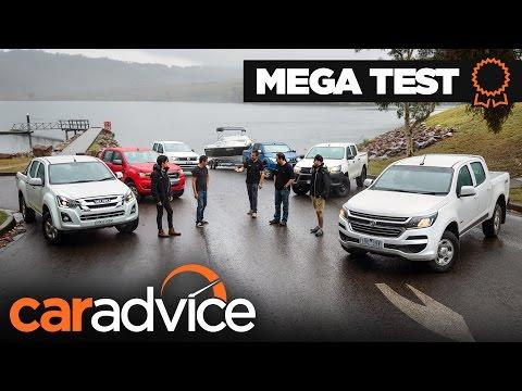 COMPARISON: 2017 Dual-cab Ute Mega Test