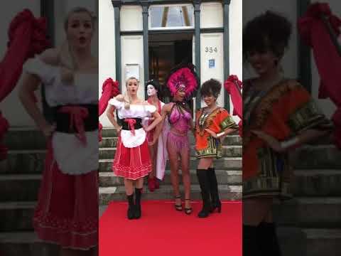 Blitz entertainment rotterdam / landenthema